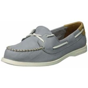 Sperry Top Sider Womens Venice Grey Boat Shoes